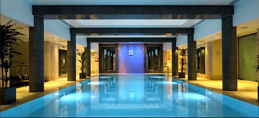 Life in lilac uk lifestyle blog review ajala spa st for Pool london
