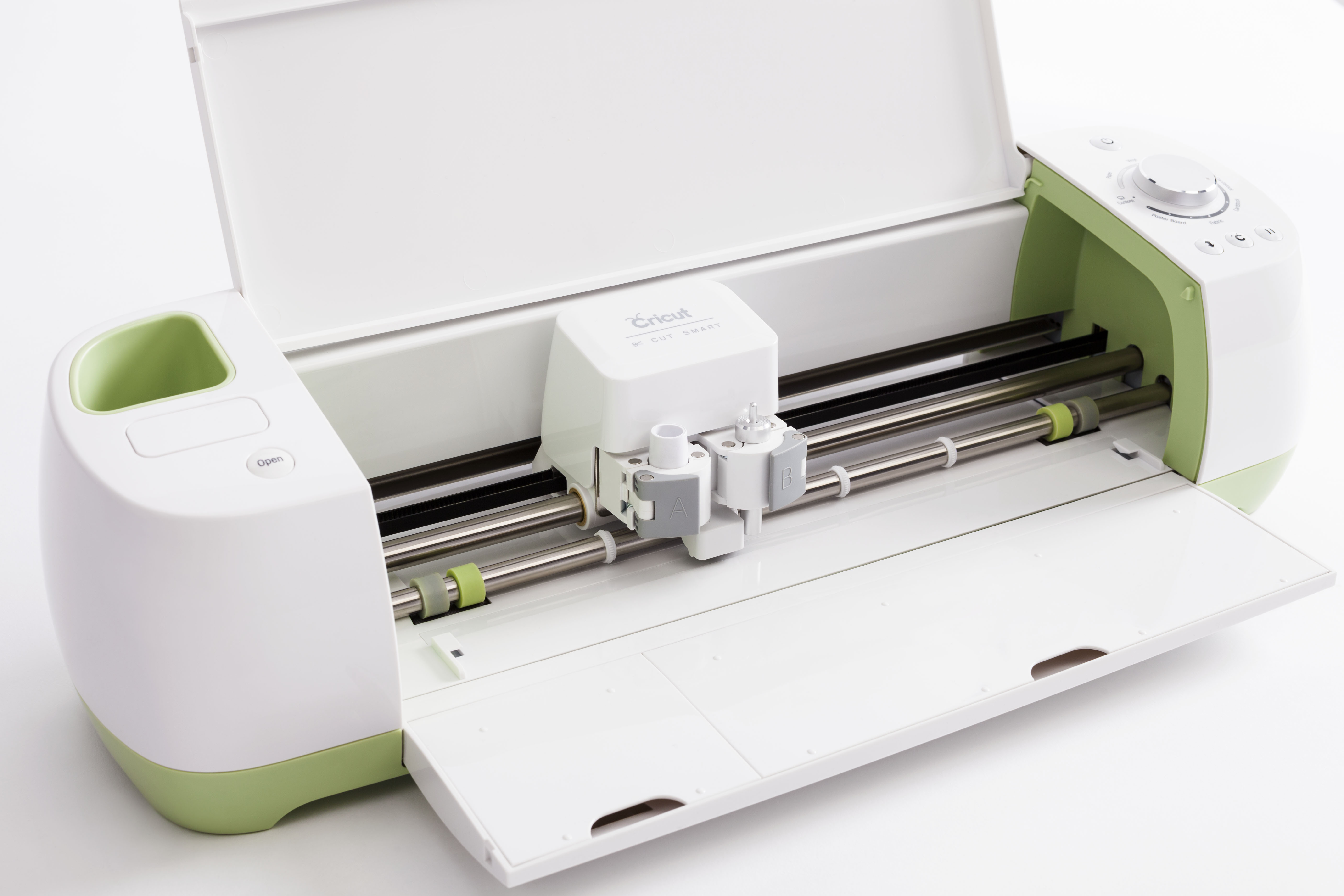 """The Cricut Expression Personal Electronic Cutting Machine is the latest addition to the Cricut cutting system. You can now cut characters from """" up to an impressive """" Six new modes and 4 functions offer greater customization of cuts, and new settings allow different units of ."""