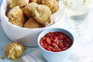 Cheesy croquettes - with pairing