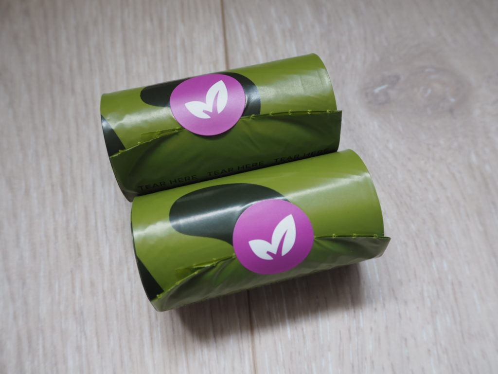 Rolls of Earth Rated Biodegradable Scented Dog Poop Bags