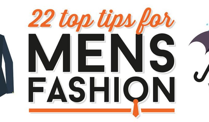 top tips for men's fashion