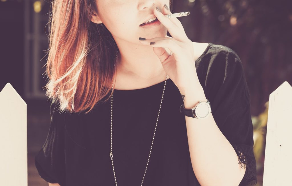 be beautiful without cigarettes