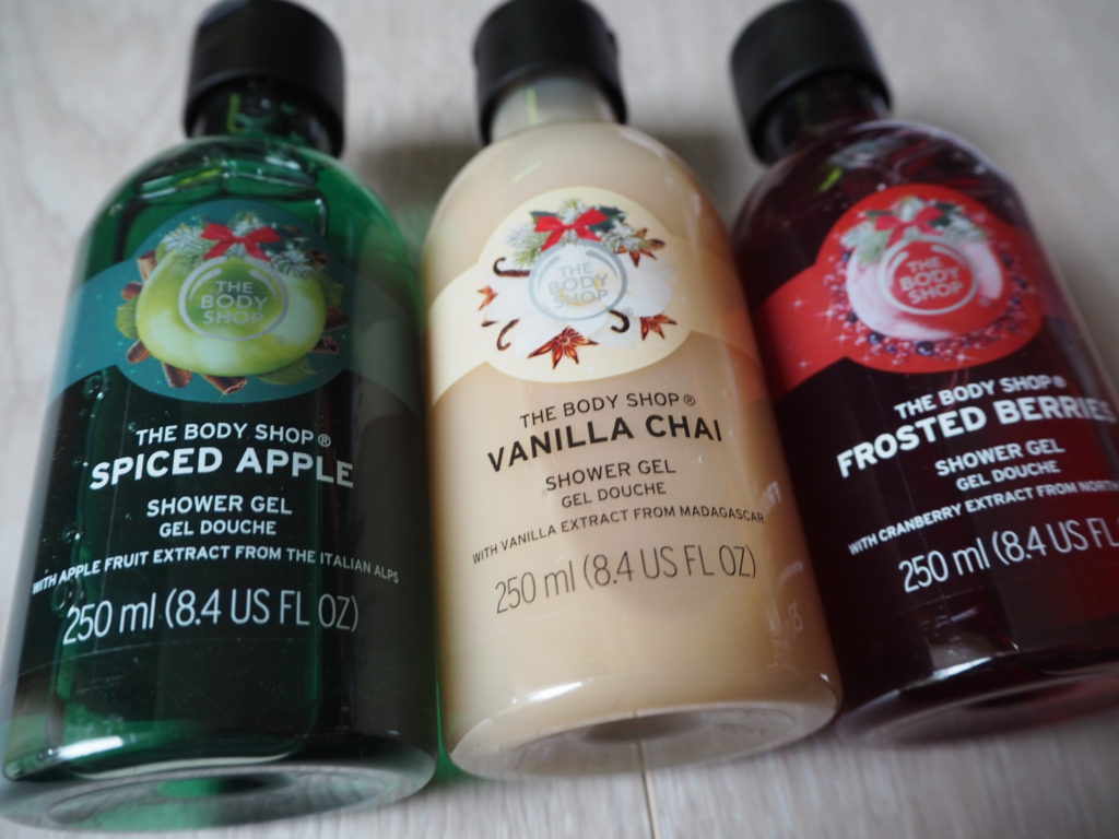 Body Shop Shower Gels