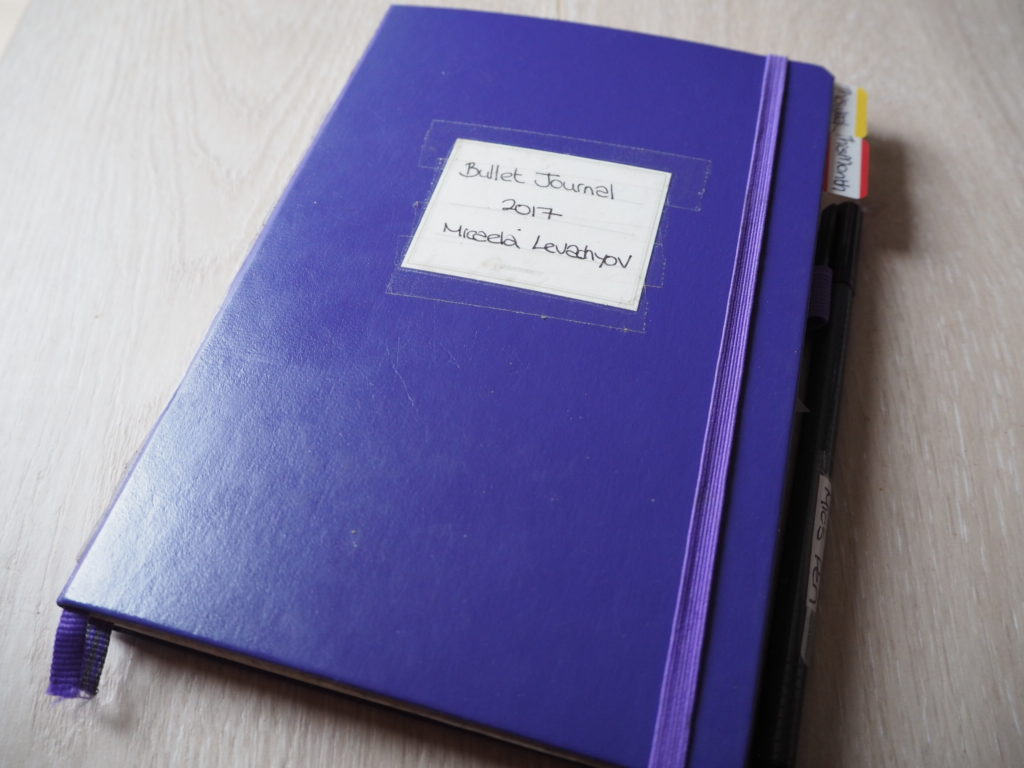 LEUCHTTURM1917 purple dotted a5 notebook