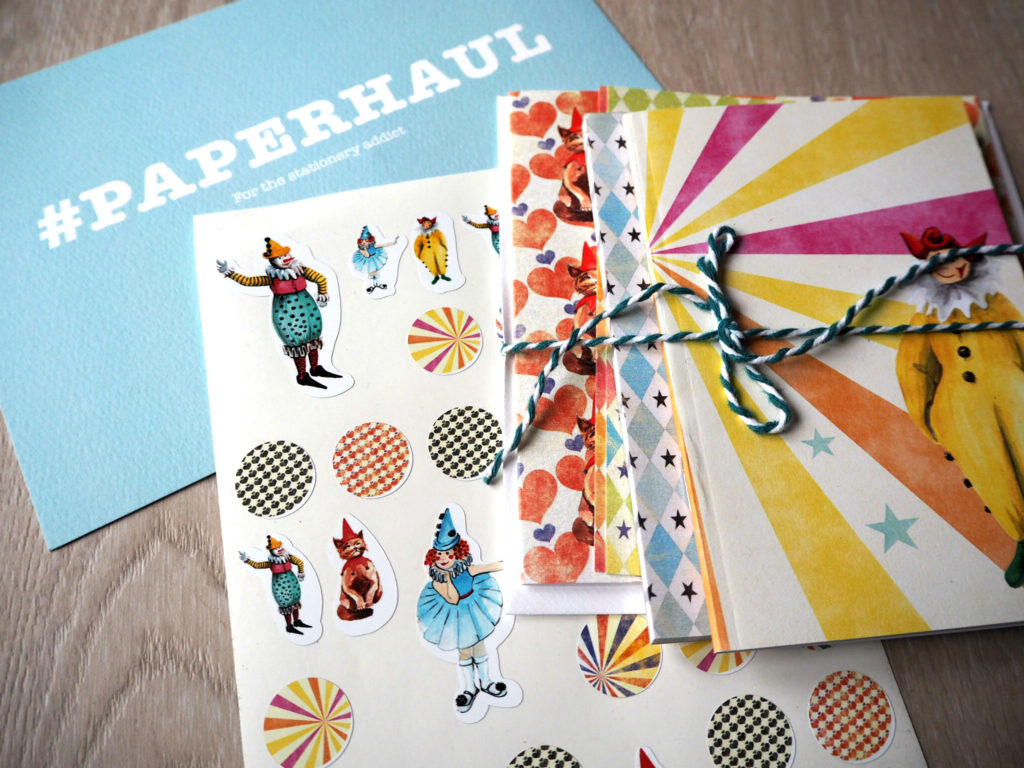 paperhaul stationery subscription box