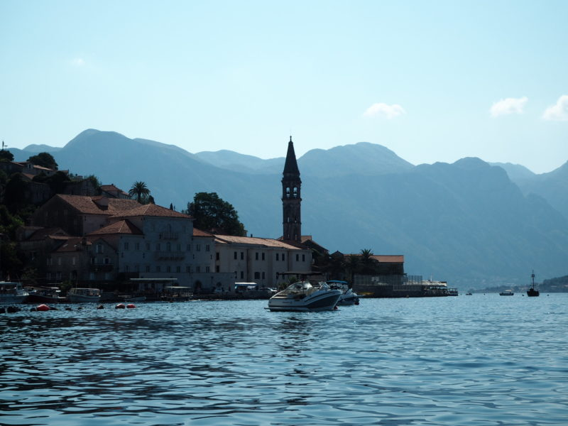 Perast from the Bay