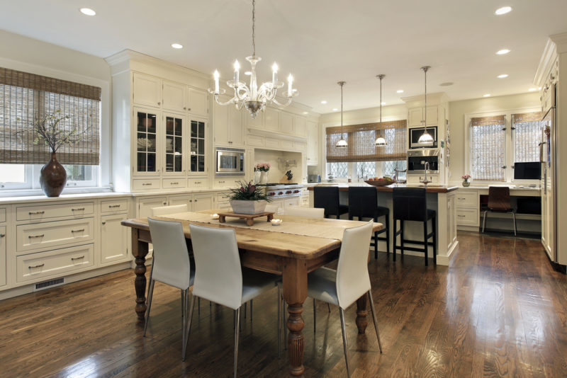 kitchen lighting with different zones