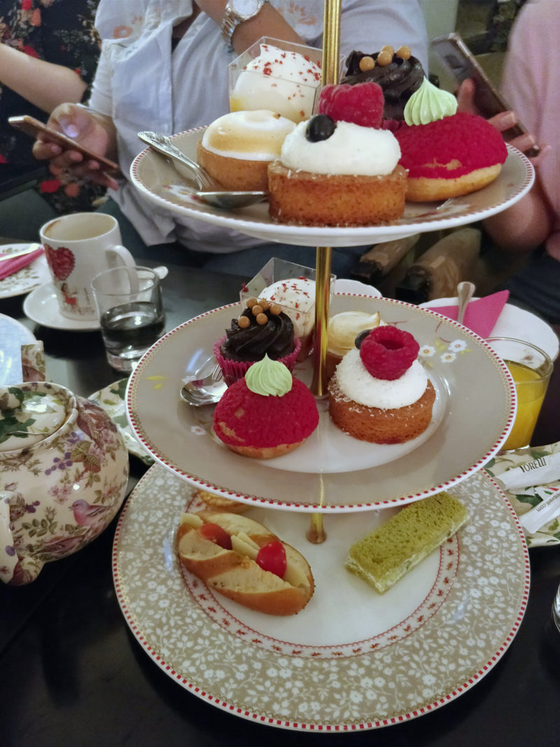 Afternoon Tea at B Bakery Covent Garden