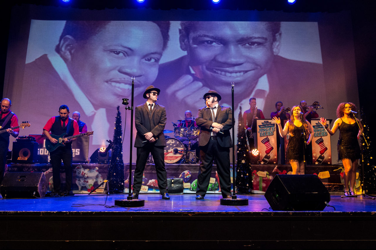 a4e957b38 Chicago Blues Brothers at The Savoy Theatre for one night only ...
