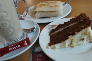 Review: Carrot Cake from Costa